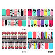 abordables Adhesivos para Uñas-Dedo-Caricatura / Encantador / Punk / Boda-Otras Decoraciones-Acrílico-1-10*7.7*0.1- (cm)