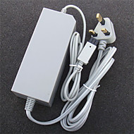 UK Type AC Wall Adapter Power Supply Replacement for Nintendo Wii Console Video Game