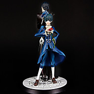 Anime Akciófigurák Ihlette Black Butler Sebastian Michaelis PVC 11 CM Modell játékok Doll Toy