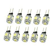 1.5W G4 LED Σποτάκια T 5 SMD 5050 90-120 lm Θερμό Λευκό Ψυχρό Λευκό Φυσικό Λευκό Κόκκινο Μπλε Κίτρινο Πράσινο 3000-3500 6000-6500 κ