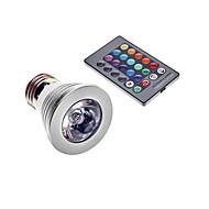 E26 / e27 3w 1 200-250 lm kleurveranderende spotlichten ac 220-240 v