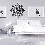 preiswerte -Blumen / Formen / Retro Wand-Sticker Flugzeug-Wand Sticker,vinyl 57*56cm