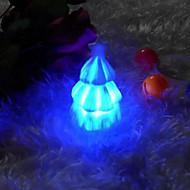 criativo colorido noturna levou a árvore de Natal que muda de cor