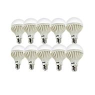 お買い得  LED ボール型電球-YouOKLight 10個 900lm E26 / E27 LEDボール型電球 A80 18 LEDビーズ SMD 5630 装飾用 温白色 クールホワイト 220-240V