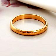 halpa -Naisten Parisormukset Statement Ring Band Ring Muoti Gold Plated Pukukorut Häät Party Päivittäin Kausaliteetti Urheilu