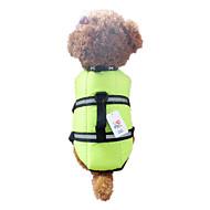 お買い得  -犬 ベスト ライフジャケット 犬用ウェア オレンジ グリーン ナイロン コスチューム ペット用 男性用 女性用 防水