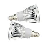 お買い得  LED スポットライト-2.5W 200-250 lm E14 LEDスポットライト 1 LEDの COB 温白色 クールホワイト AC85-265V