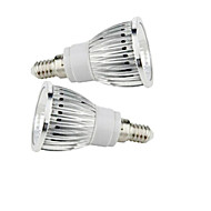 2.5W E14 LED-spotlampen 1 leds COB Warm wit Koel wit 200-250lm 2800-3500/6000-6500K AC 85-265V