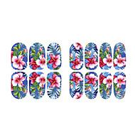 abordables Maquillaje y manicura-Pegatina de uñas Plantilla de estampado de uñas Nail Art Design Diario Moderno Moda Impermeable Alta calidad