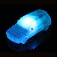 voordelige Draagbare verlichting-creatieve kleur veranderende acryl kleurrijke auto LED nachtlampje klein lantaarn home decoration