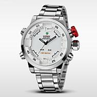 WEIDE Muškarci Ručni satovi s mehanizmom za navijanje digitalni sat Kvarc Šiljci za meso Japanski kvarcLED Kalendar Kronograf