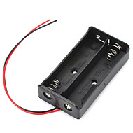 7.4V 2 x 18650 Battery Holder Case Box with Leads