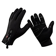 cheap Cycling & Bike Accessories-Cycling Gloves Full Finger Warm Soft Keep Warm Full Finger Bike Bicycle Mittens Windproof Thermal Winter Sports Gloves
