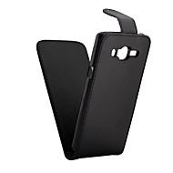 Недорогие Чехлы и кейсы для Samsung-искусственная кожа вверх вниз крышка флип мобильный кожи чехол для галактики J3 (2016 г.) / J5 (2016 г.) / j1 (2016 г.) / j1 ас / J2 / J3