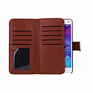 Magnetic Detachable Wallet Full Body Leather Case with Card Slots For Samsung Galaxy Note4/Note5