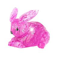 Τουβλάκια Παζλ Κρυστάλλινα παζλ Παιχνίδια Rabbit Νεωτερισμός 56 Κομμάτια