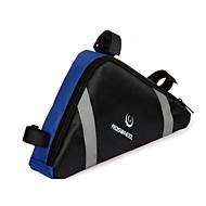 お買い得  -ROSWHEEL 2.2 L 自転車用フレームバッグ / トライアングルフレームバッグ 防湿, 耐久性, 耐衝撃性の 自転車用バッグ 布 / PVC 自転車用バッグ サイクリングバッグ サイクリング / バイク / 防水ファスナー