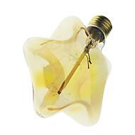 youoklight® e27 40w edison luz incandescente filamento de la bombilla de la lámpara retro forma de estrella / corazón de la vendimia