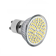 お買い得  LED スポットライト-4本 3.5 W 300-350 lm GU10 / GU5.3(MR16) / E26 / E27 LEDスポットライト MR16 60SMD LEDビーズ SMD 2835 装飾用 温白色 / クールホワイト 220-240 V / 12 V / 110-130 V