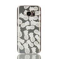 Для Samsung Galaxy S7 Edge Прозрачный / С узором Кейс для Задняя крышка Кейс для Фрукт Мягкий TPU Samsung S7 edge / S7 / S6 edge / S6