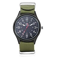 billige -Herre Militærur Armbåndsur Quartz Sort / Grøn 30 m Vandafvisende Analog Vedhæng - Sort Grøn Et år Batteri Levetid / SODA AG4