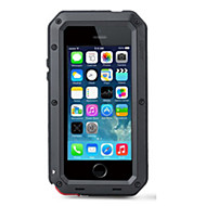 Недорогие Модные популярные товары-Кейс для Назначение iPhone 4/4S / Apple Кейс на заднюю панель Твердый Металл для iPhone 4s / 4