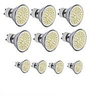 お買い得  LED スポットライト-3.5W 300-350 lm GU10 GU5.3(MR16) E26/E27 LEDスポットライト MR16 60SMD LEDの SMD 2835 装飾用 温白色 クールホワイト 110〜130V DC 12V 220-240V