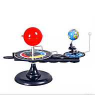 billige Legetøj og hobbyartikler-Sæt med tre glober Planetarium Pædagogisk legetøj Legetøj Kugle Maskine Professionelt niveau Plast Gave 1pcs