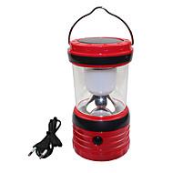 voordelige Pilaarverlichting-USB-uitgang zonne-6 led wit outdoor camping wandelen lantaarn tent lamp licht