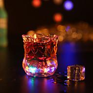 1pc kleurrijke creatief willekeurige kroeg ktv led lamp 's nachts licht geleid drinkware