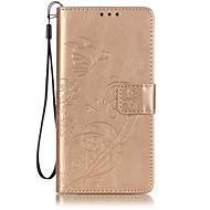 На все тело бумажник / Визитница / кувырок Однотонные Искусственная кожа Мягкий Embossed Leather Для крышки случая HuaweiHuawei P9 /