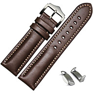cheap Smartwatch Accessories-Watch Band for Gear S2 Samsung Galaxy Sport Band / Classic Buckle / Leather Loop Leather Wrist Strap