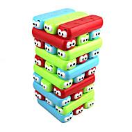 보드 게임 조립&블럭 게임 스태킹 타워 나무 블록 장난감 컬러풀 광장 자기 퍼티 뉴 디자인 30 조각 여자아이 남자아이 크리스마스 어린이날 생일 선물