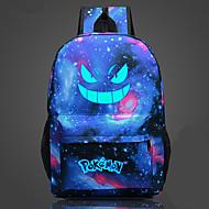 Tas geinspireerd door Pocket Monster Ash Ketchum Anime Cosplay Accessoires Tas Zwart / Blauw / Oranje / Paars / Inktblauw CanvasMannelijk