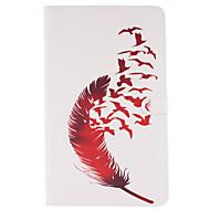 Для Кейс для  Samsung Galaxy Кошелек / Бумажник для карт / со стендом / Флип / С узором Кейс для Чехол Кейс для Перо МягкийИскусственная