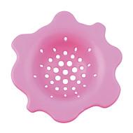 (임의의 색) 1 개 꽃 모양의 주방 세척 드레인 싱크 스트레이너 머리 포수 스토퍼 필터 도착