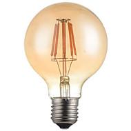 1kpl g95 4w e27 360lm 2300k-2700k 360 asteen led-hehkulamppu led edison-lamppu (220-240v)