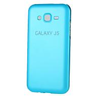 Недорогие Чехлы и кейсы для Galaxy J-Для Кейс для  Samsung Galaxy Other Кейс для Задняя крышка Кейс для Один цвет Металл Samsung J7 / J5 / Grand Prime / Grand 2 / Core Prime
