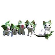 アニメのアクションフィギュア に触発さ コスプレ コスプレ ポリ塩化ビニル 4 cm モデルのおもちゃ 人形玩具