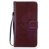 tok Για Samsung Galaxy Samsung Galaxy Θήκη Πορτοφόλι / Θήκη καρτών / με βάση στήριξης Πλήρης Θήκη Μάνταλα Μαλακή PU δέρμα για J5 (2016) / J5 / J3