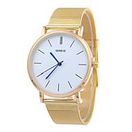 voordelige Modieuze horloges-Dames Dress horloge Vrijetijdshorloge Kwarts Legering Band Informeel Zilver Goud
