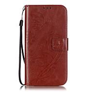 пу кожаный материал бабочки рифленые телефон случае для Samsung Galaxy s7 край / s7 / s6 край плюс / s6 край / s6 / s5 / s4 / s3 / с2