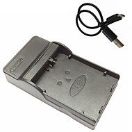 キヤノンEOS 450D 500D 1000D kissx2 kissx3ためlpe5マイクロUSBモバイルカメラのバッテリー充電器