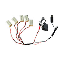 abordables Deportes y Estilo de Vida-X5C 3.7V 650mAh 5pcs batería Niños Clásico Divertido