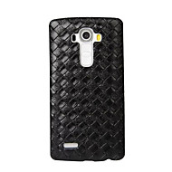tanie Etui na telefony-Kılıf Na LG LG K10 LG K7 LG G5 LG G4 Etui do LG Wytłaczany wzór Czarne etui Geometryczny wzór Twarde PC na