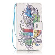 Для Кейс для  Samsung Galaxy Кошелек / Бумажник для карт / со стендом / Флип Кейс для Чехол Кейс для Перо Мягкий Искусственная кожа