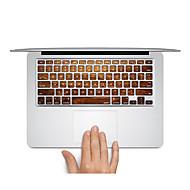1 szt. Naklejka na obudowę na Odporne na zadrapania Tekstura drewna Matowe Bardzo cienkie PVC MacBook Pro 15'' with Retina MacBook Pro