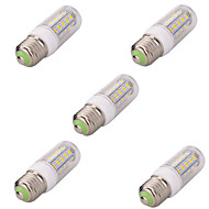 E26/E27 LED Corn Lights T 36 SMD 5730 580lm Warm White Cold White 2700-6500K Decorative AC 220-240V