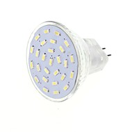 2.5W G4 GU4(MR11) LED Spotlight MR11 27 SMD 3014 180-200lm Warm White Cold White 3000K / 6000K Decorative DC 12 AC 12V
