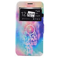 Недорогие Чехлы и кейсы для Galaxy A9(2016)-Кейс для Назначение SSamsung Galaxy Кейс для  Samsung Galaxy Бумажник для карт Защита от пыли Защита от удара со стендом Чехол другое